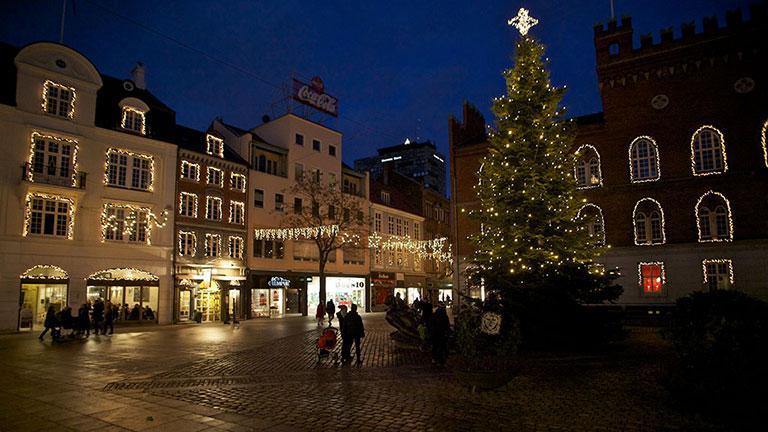 juletræer til salg odense